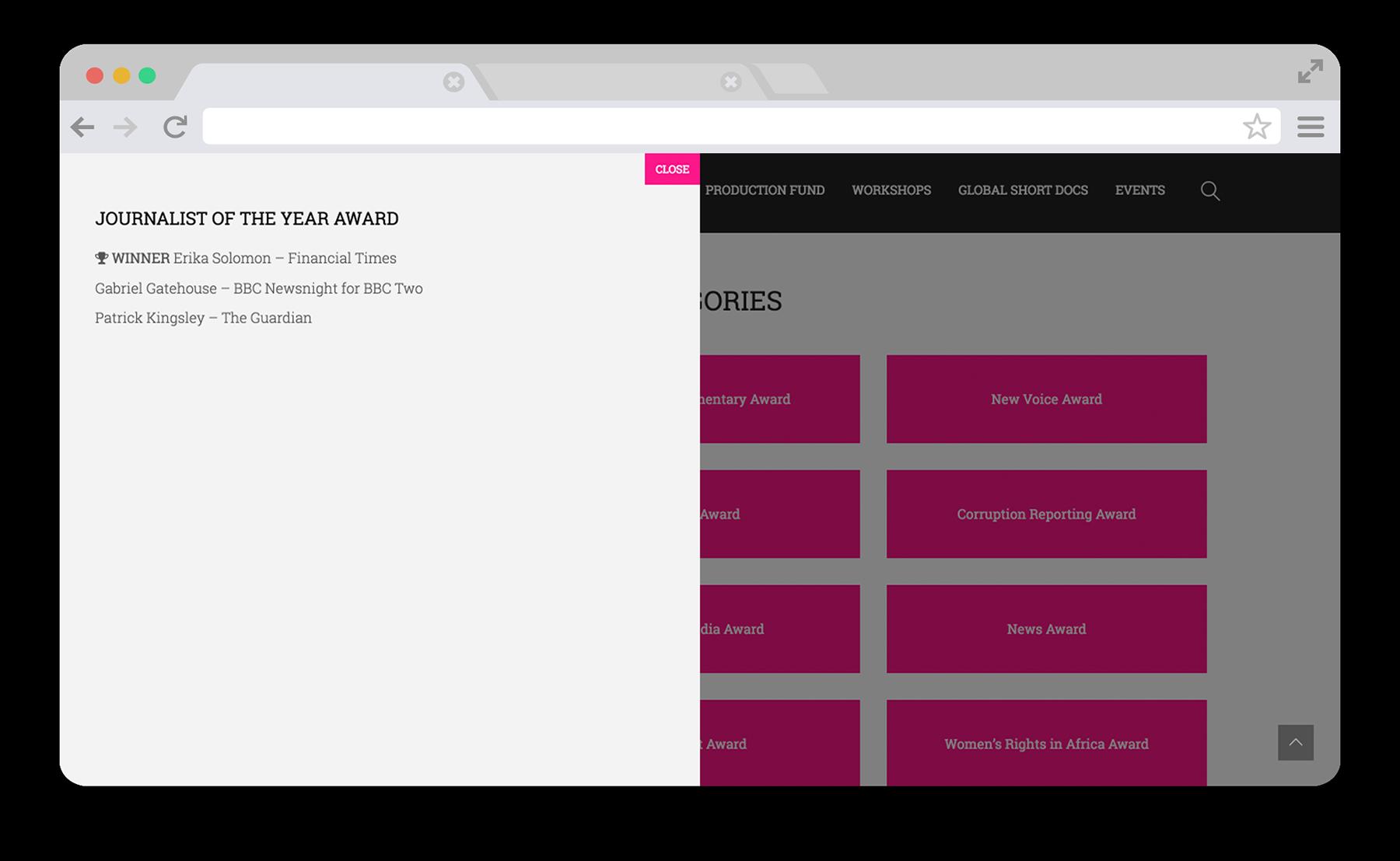 One World Media Desktop Screenshot 4